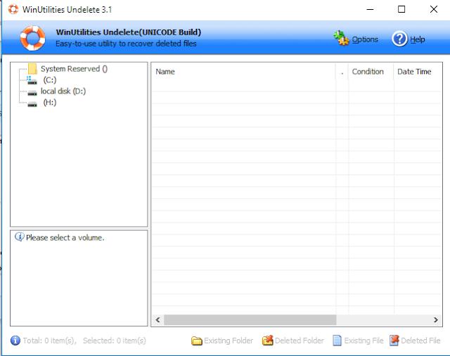 Download WinUtilities Undelete 3.1