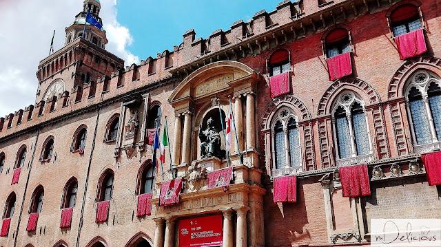 ratusz bolonia, piazza di maggiore, ratusz boloński, Bolonia,