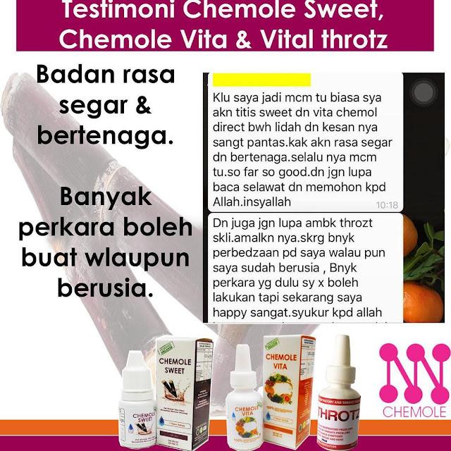 Testimoni Chemole Vita