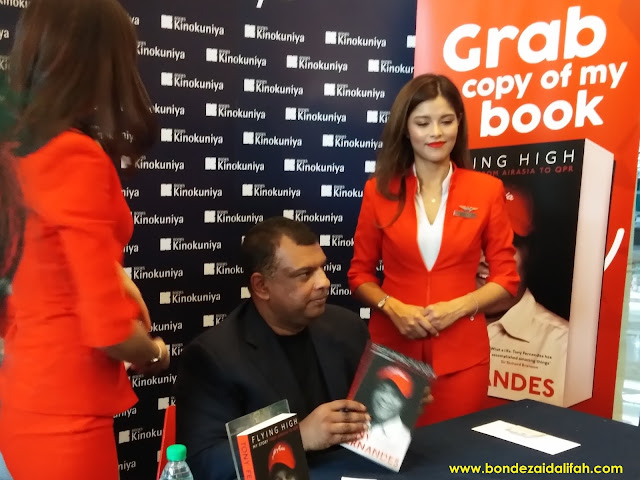 FLYING HIGH, MY STORY FROM AIRASIA TO QPR - TONY FERNANDES
