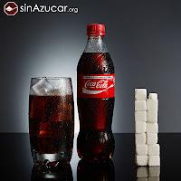 coca cola, azúcar, sinazucar.org
