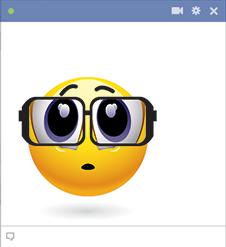Big Eyeglasses Emoticon Symbols Amp Emoticons
