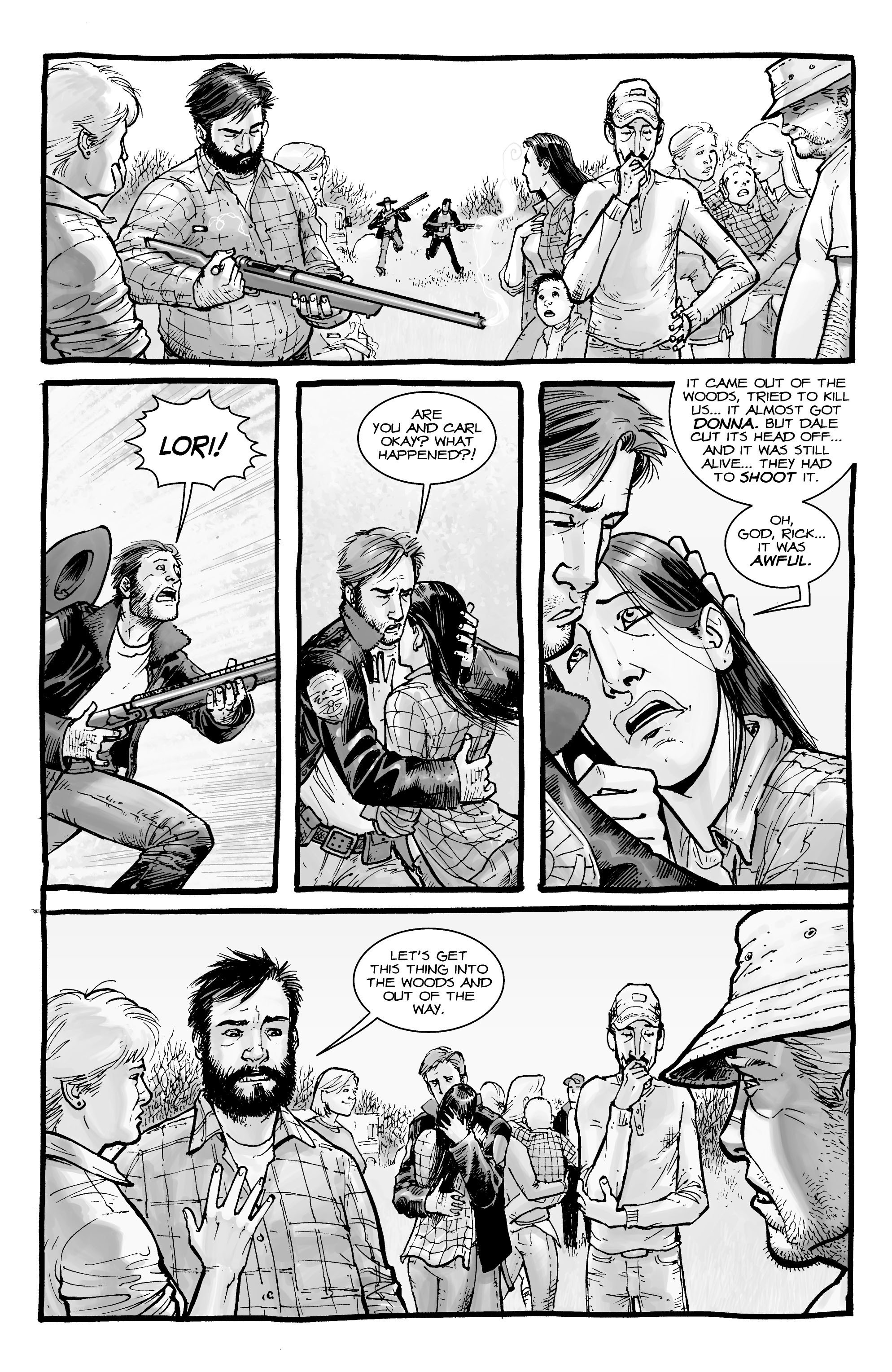The Walking Dead Issue # 3 - ReadComicOnline