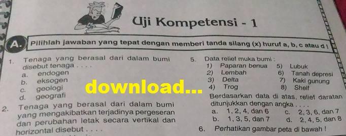 Soal Ips Kelas 7 Semester 1 Amp 2 Kurikulum 2013 Ktsp Dan Kunci Jawaban Untuk Uts Ukk Un Us