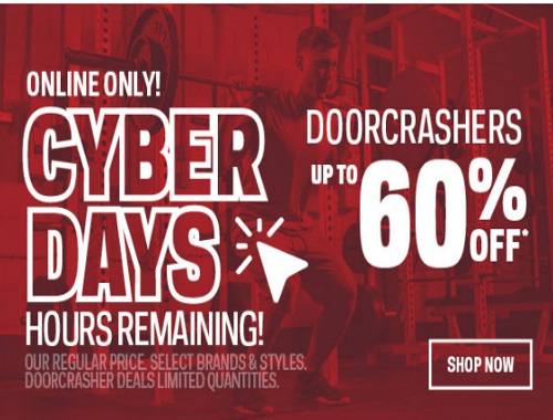 Sportchek Cyber Days Up To 60% Off