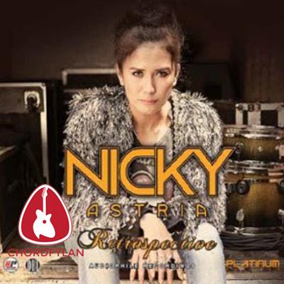 Lirik dan Chord Kunci Gitar Kau - Nicky Astria