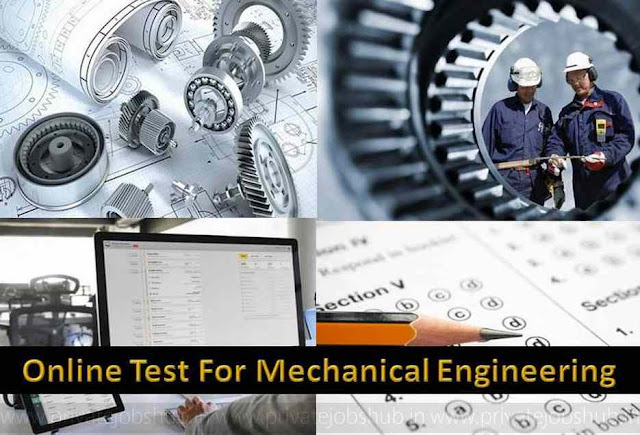 Online Test For Mechanical Engineering