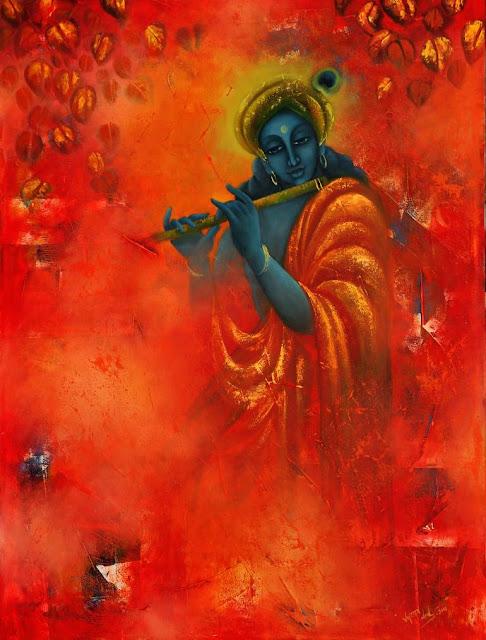 राधा का नाम कृष्ण के साथ में लिया जाता हैं.