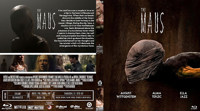 The Maus Bluray Cover