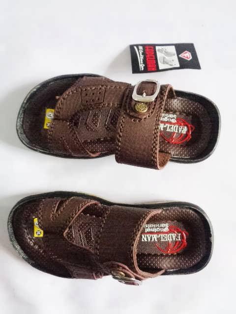 sandal Fadelman tan Anak laki-laki