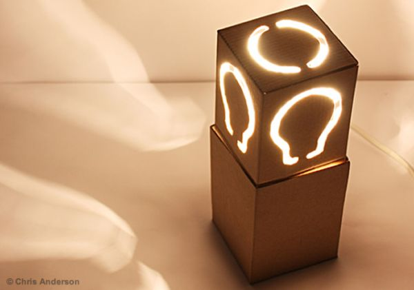 Creativity Creative Cardboard Lamps
