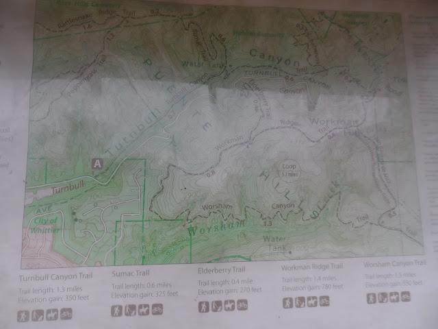 Turnbull Canyon Map
