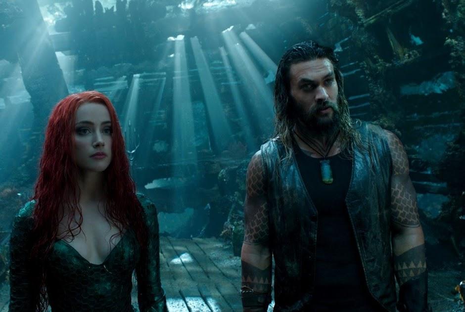 """Aquaman"" domina bilheteria de Natal e ultrapassa US$ 500 milhões mundialmente"