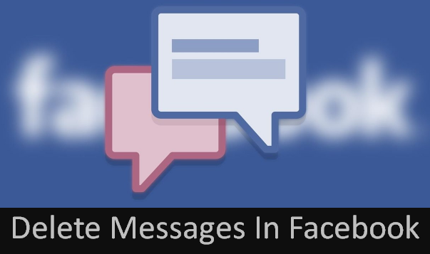 how to fully delete facebook messages