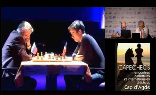 Les rencontres d'échecs du Cap d'Agde 2016 - Photo © site officiel