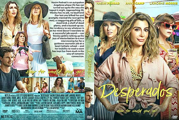 Desperados (2020) DVD Cover