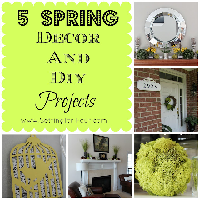 Setting for Four: Spring Decor and DIY Project Gallery: