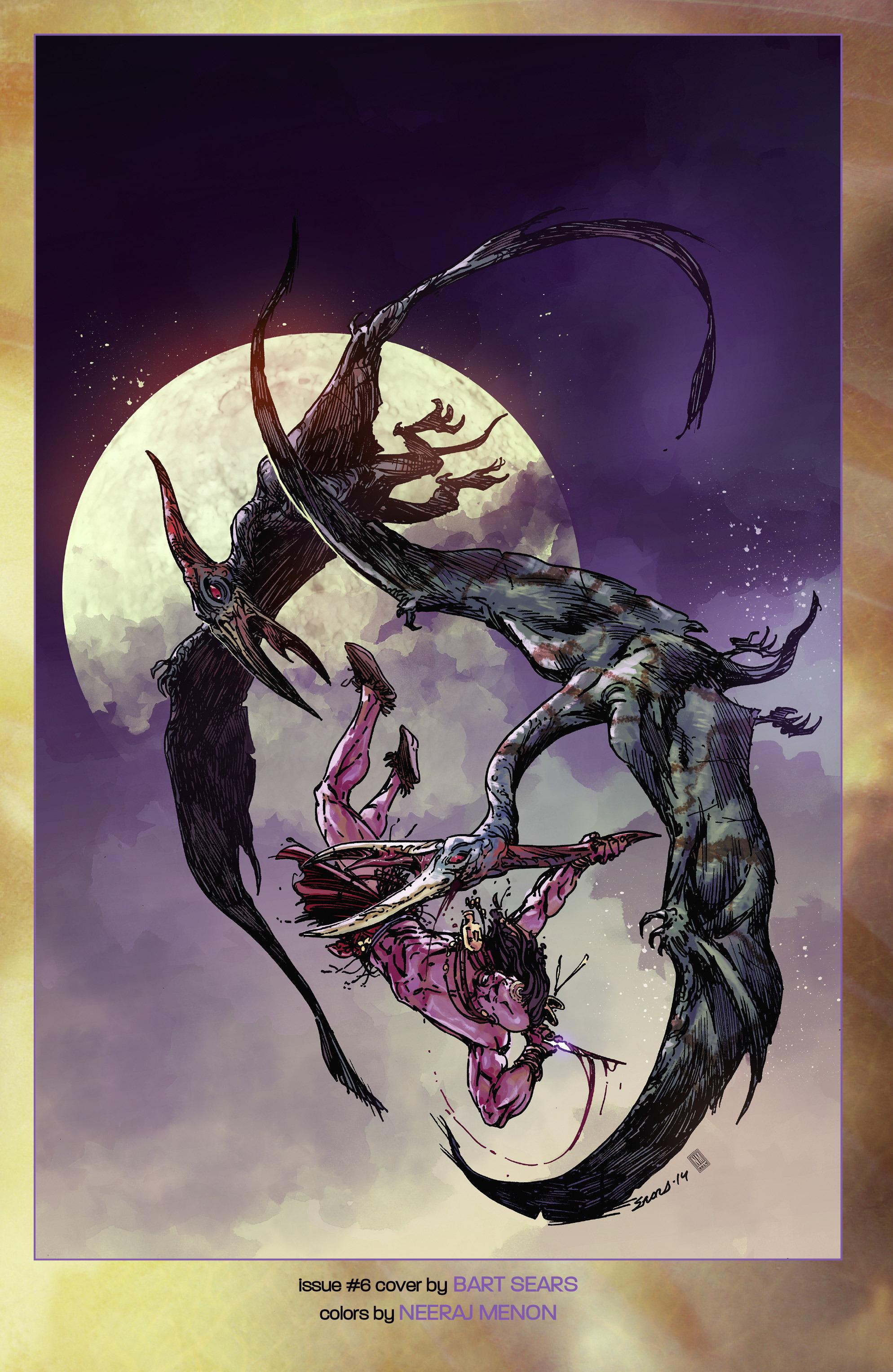Read online Turok: Dinosaur Hunter (2014) comic -  Issue # _TPB 2 - 107