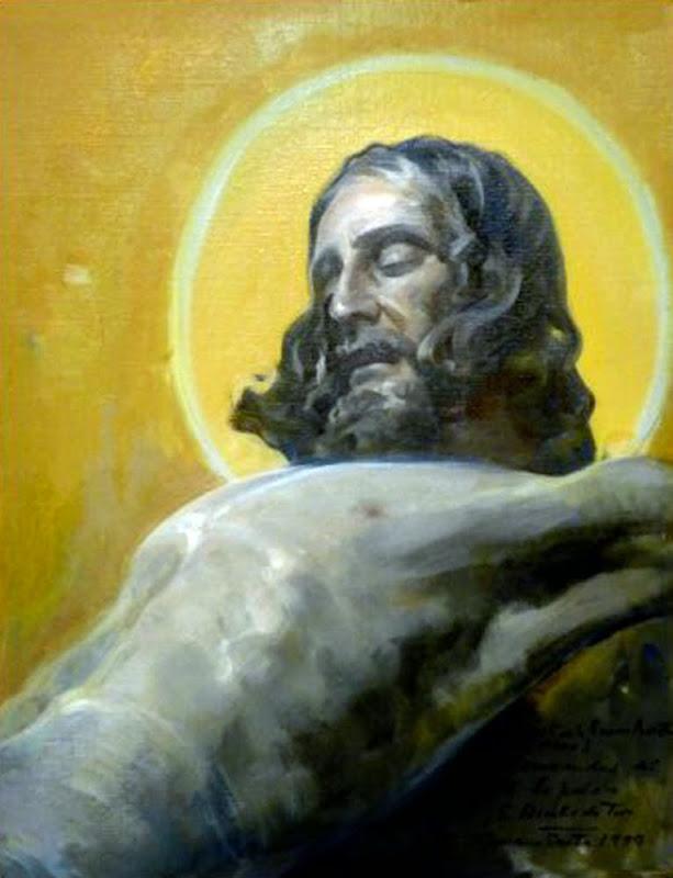 Cristo de la Buena Muerte, Félix Revello de Toro, Revello de Toro, Pintores Malagueños, Retratos de Revello de Toro, Pintor español, Pintores de Málaga