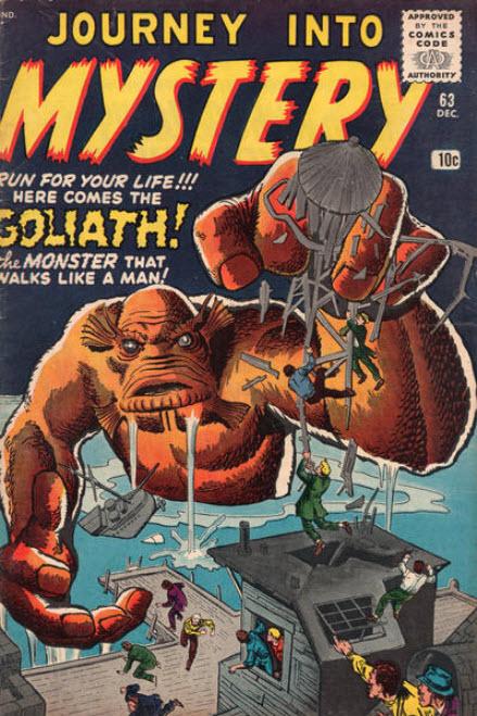 Journey Into Mystery Goliath