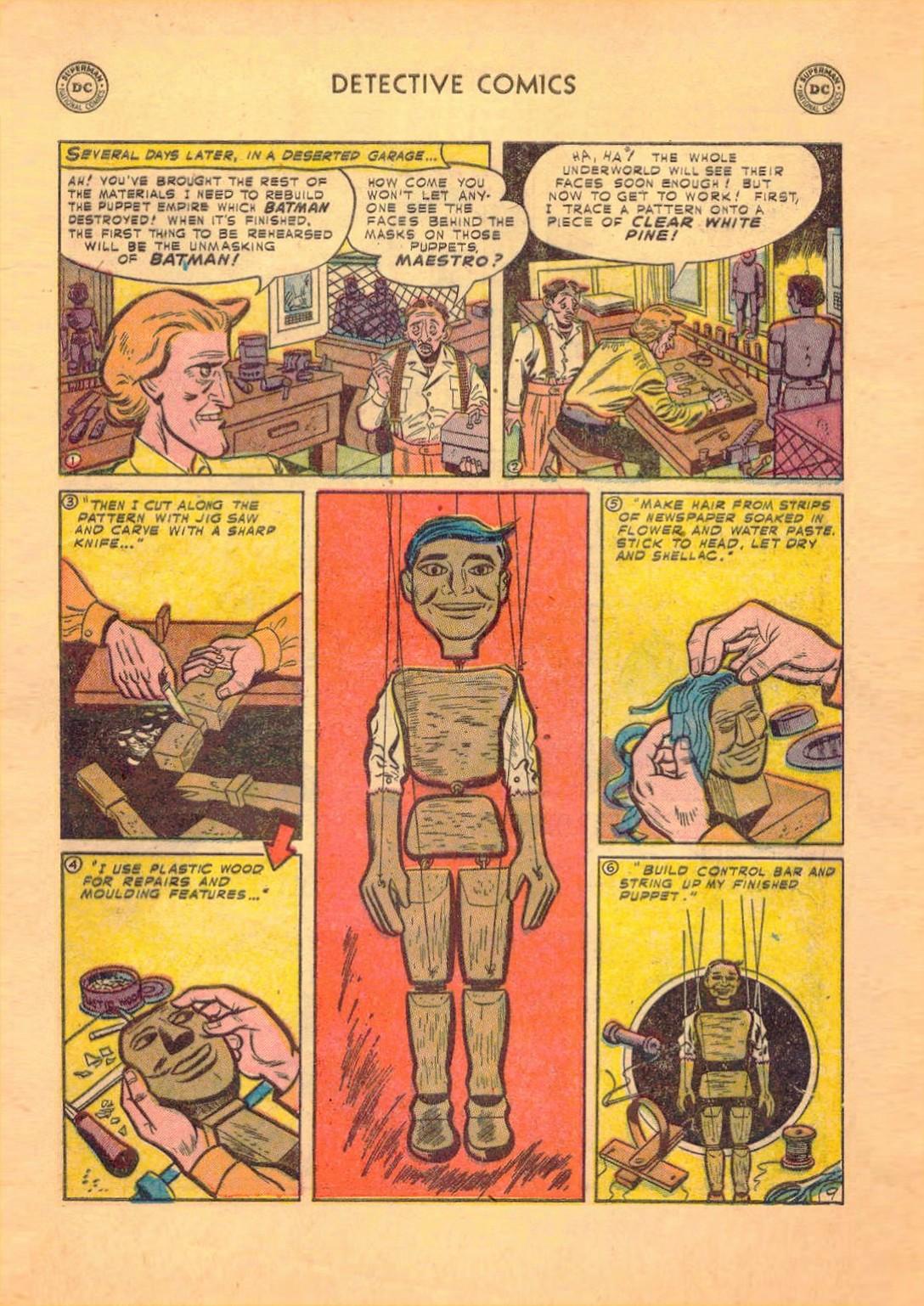 Read online Detective Comics (1937) comic -  Issue #182 - 10
