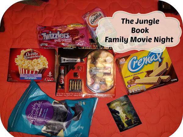 Family Movie Night with Mowgli & Baloo #JungleBook