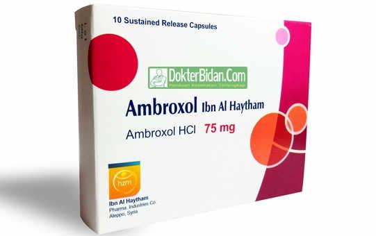 Ambroxol - Info Obat Manfaat Dosis Pemakaian Dan Efek Sampingnya Bagi Kesehatan