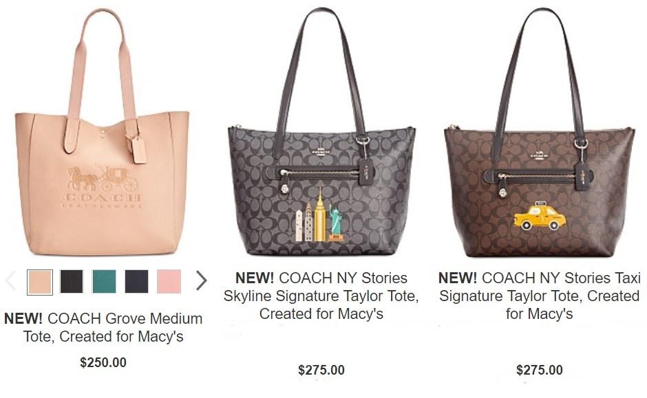 Coach Ny Stories Skyline Signature Taylor Tote 31204 Retail Price Usd275 Rm1370 Promo Rm640 Colour Black