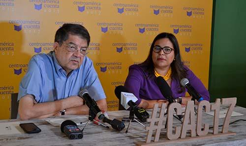 Centroamérica Cuenta 2017, Sergio Ramírez y Claudia Neira