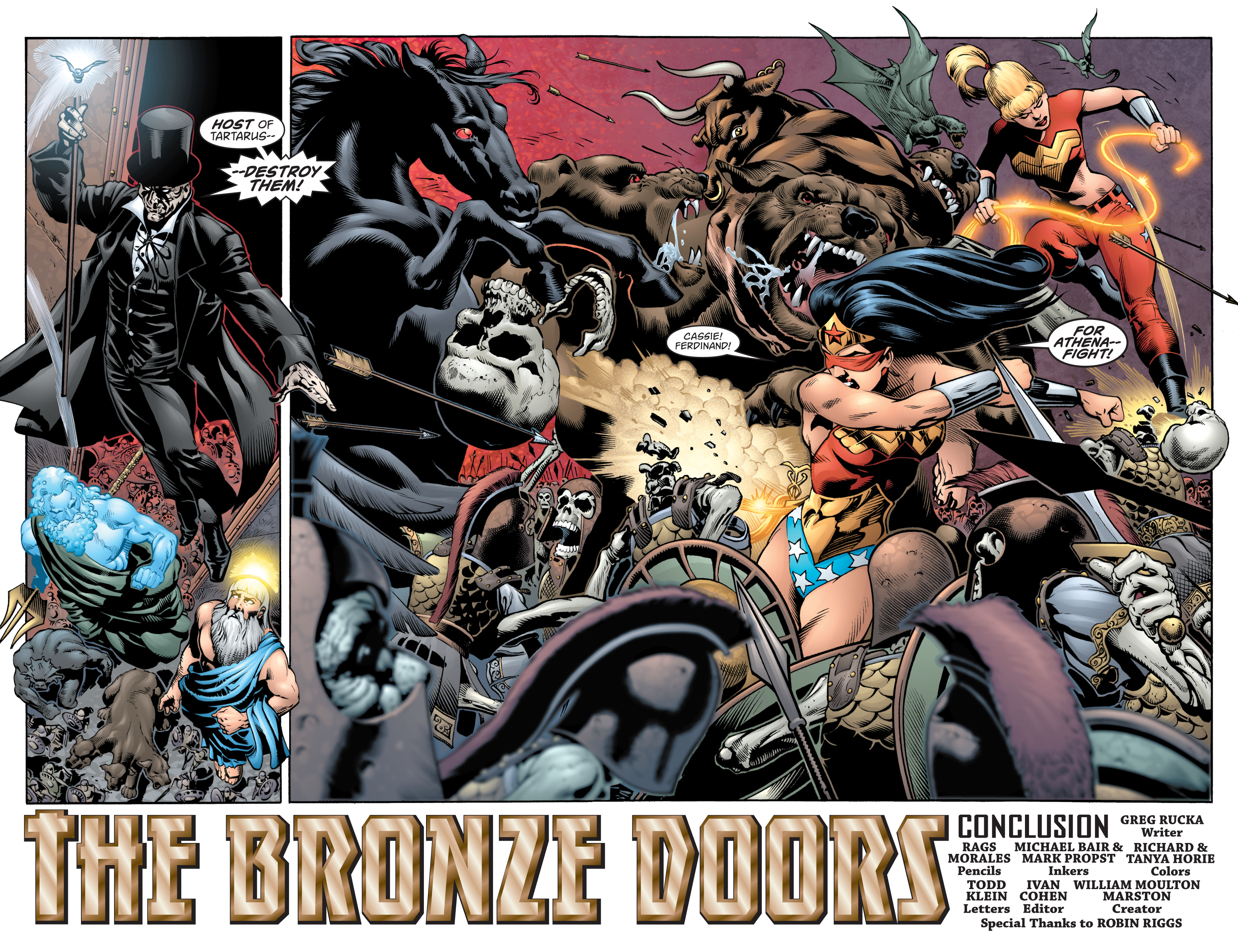 Read online Wonder Woman (1987) comic -  Issue #217 - 3