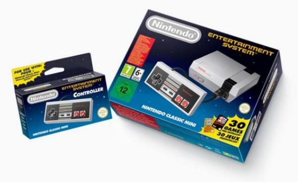 """نينتندو تكشف عن منصتها الجديدة/ القديمة """"Mini-NES"""""""