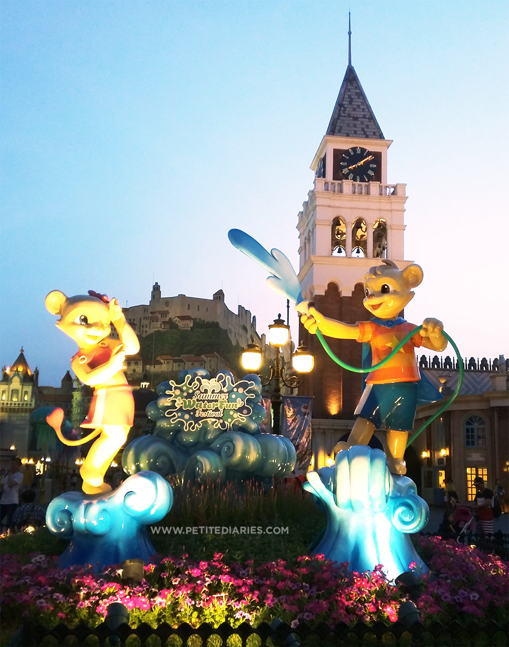 travelling to everland korea