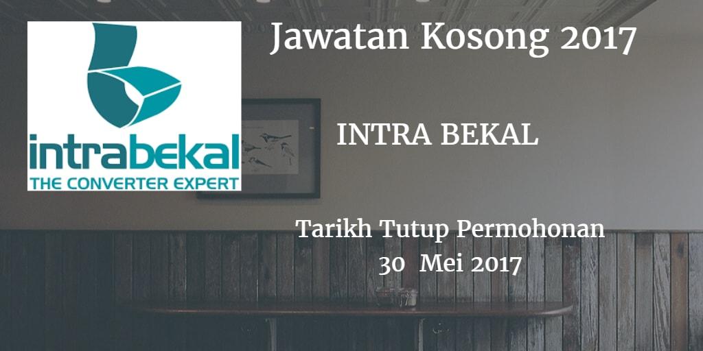 Jawatan Kosong INTRA BEKAL 30 Mei 2017