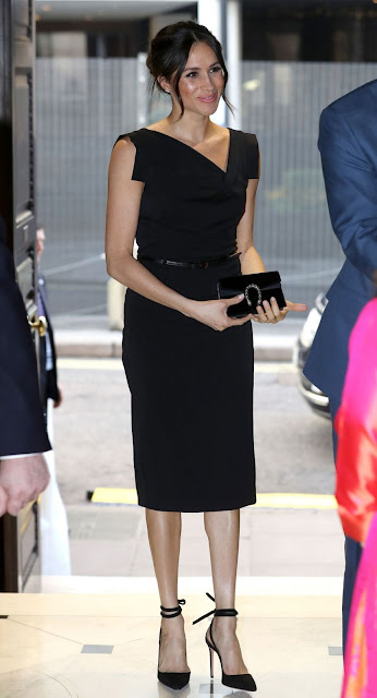 La Duquesa de Sussex asiste a una recepción en Londres