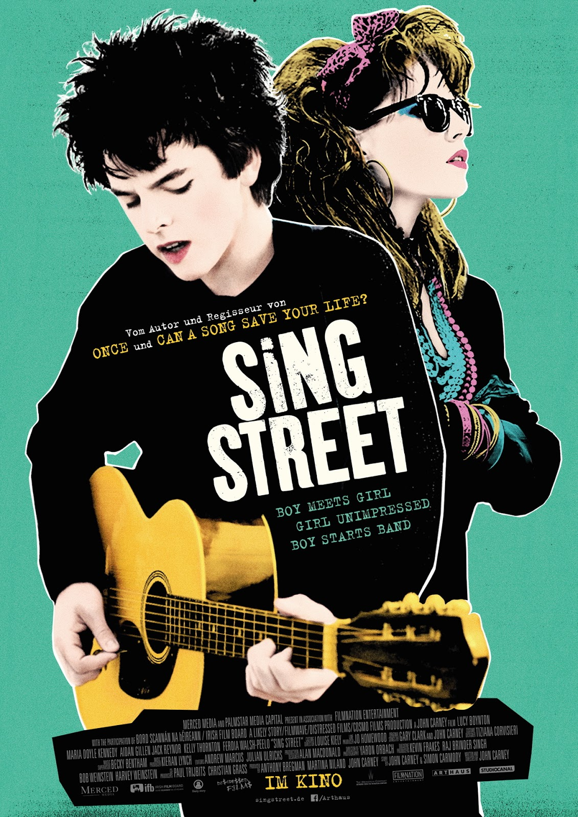 cranes are flying: Sing Street
