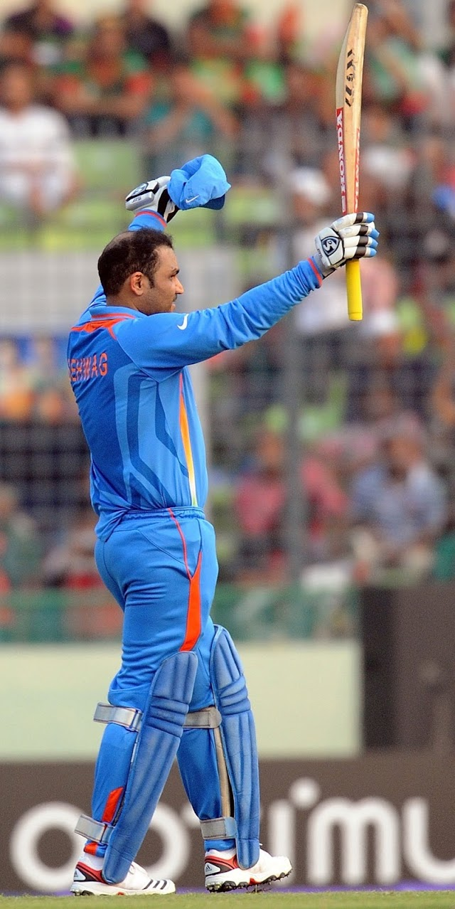 765. Sehwag the dark knight of the 2011 world cup