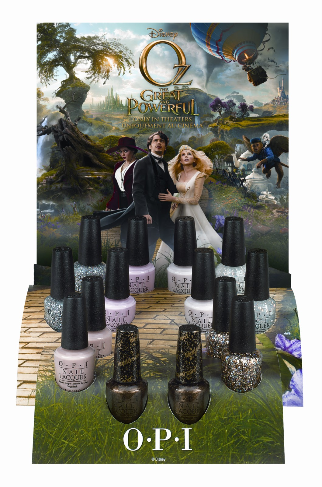 Never Enough Nails: OPI Oz The Great and Powerful Collection Preview