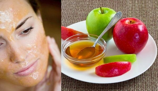 Apple Face Pack For Oily