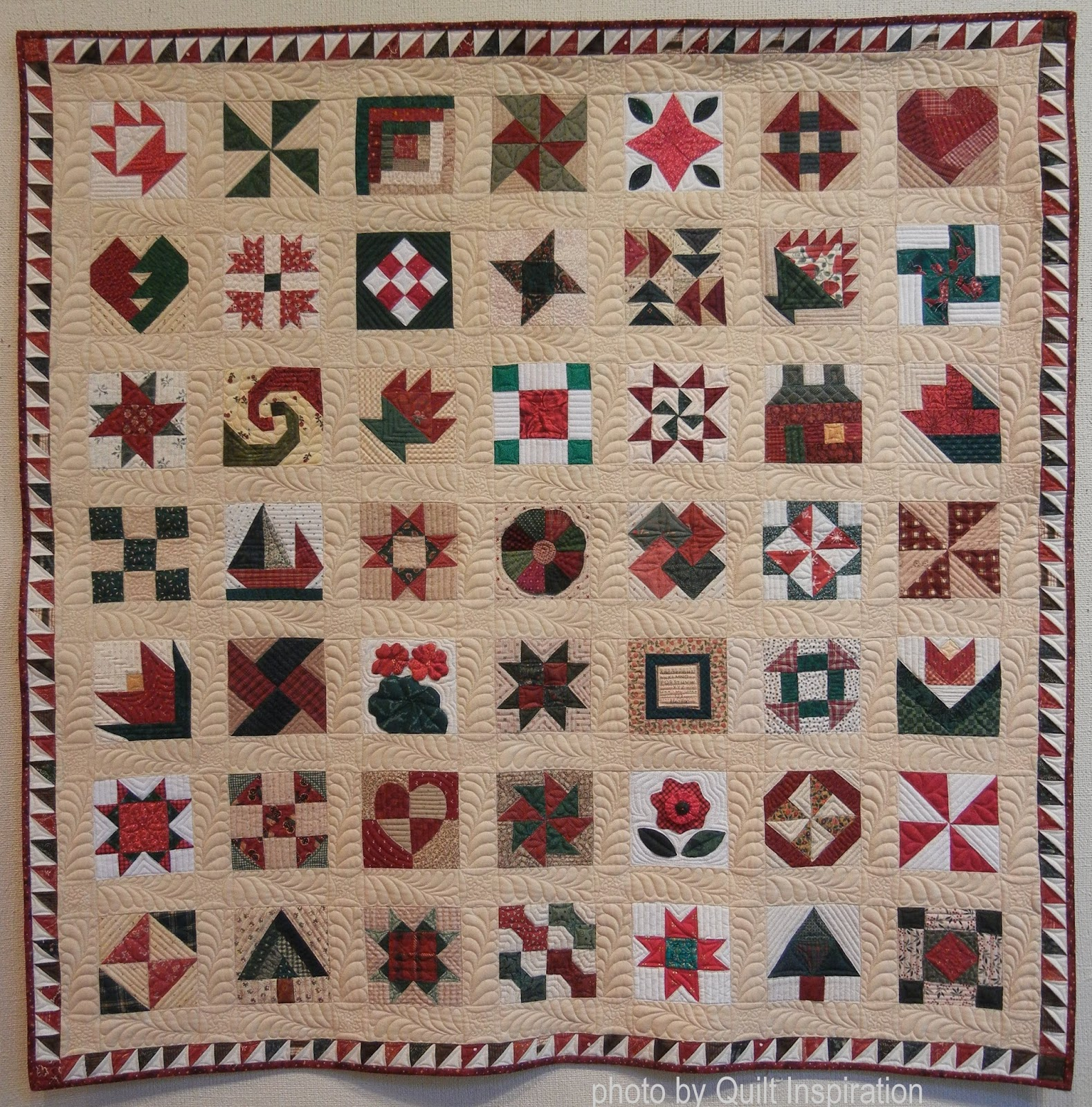 Quilt Inspiration: The 12 Days of Christmas: Day 5