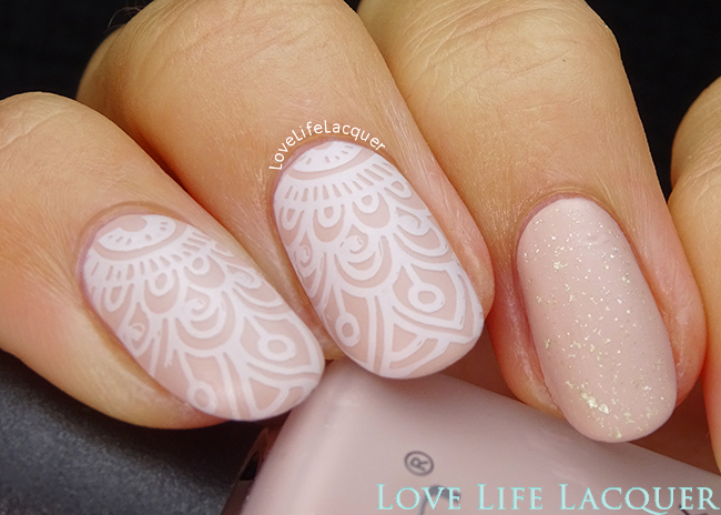 Romantic Born Pretty Store stamping plate BP-L008
