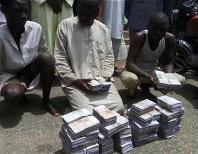 Gombe State Police command arrest fake currency syndicate with N22m fake notes