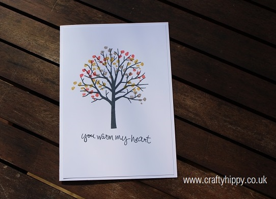 Sheltering Tree stamp set, Stampin' Up!