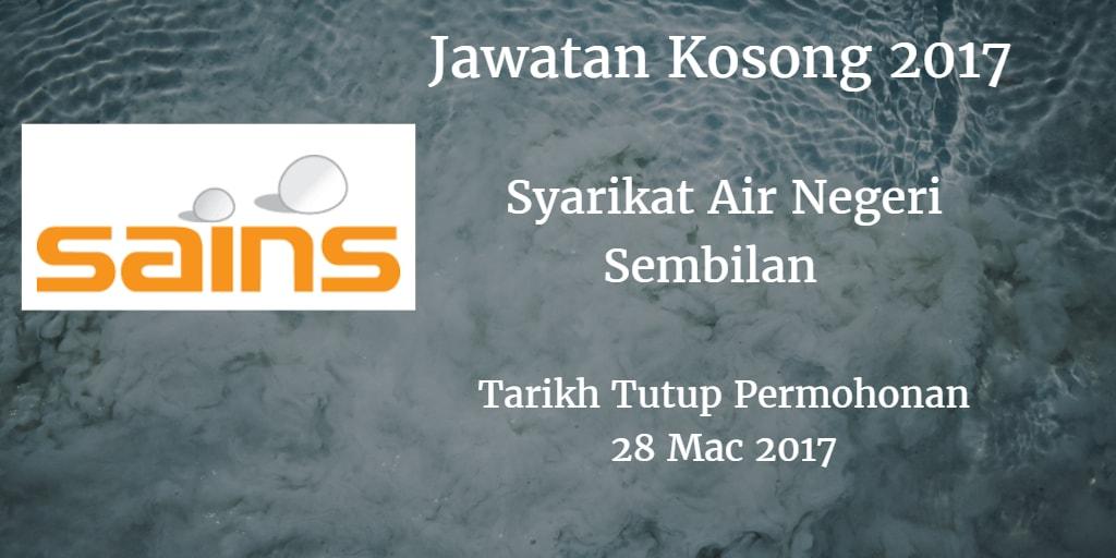Jawatan Kosong SAINS 28 Mac 2017