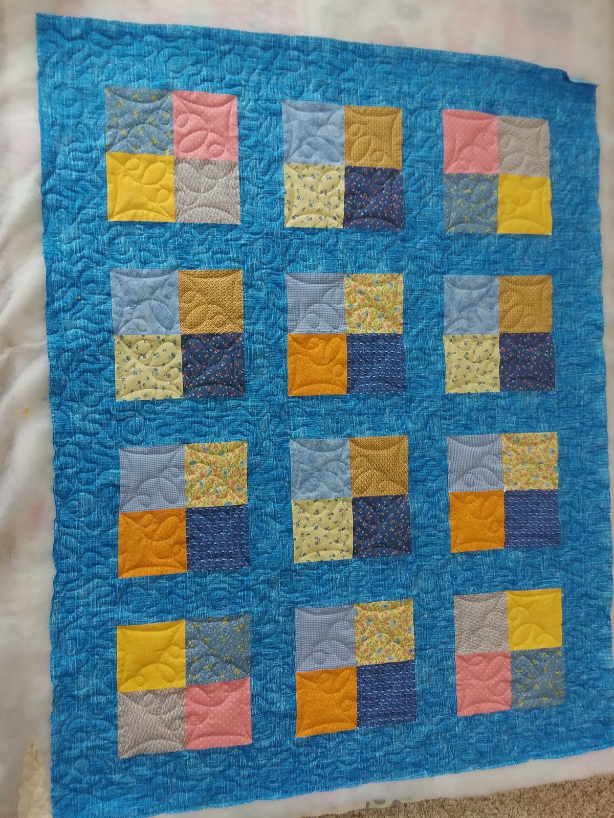 4 patch baby quilt patterns