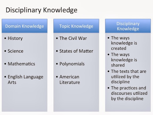 Delving Into Disciplinary Literacy