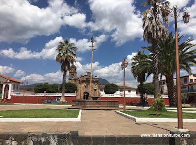 Main Square in Cuanajo Michoacán