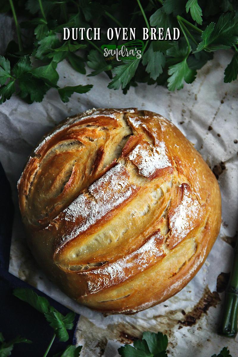 Dutch Oven Bread - SANDRA'S EASY COOKING