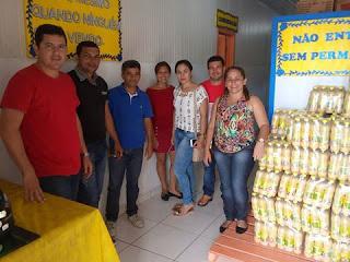 Vereadores Fazem Visita a o Setor de Alimentação Escolar
