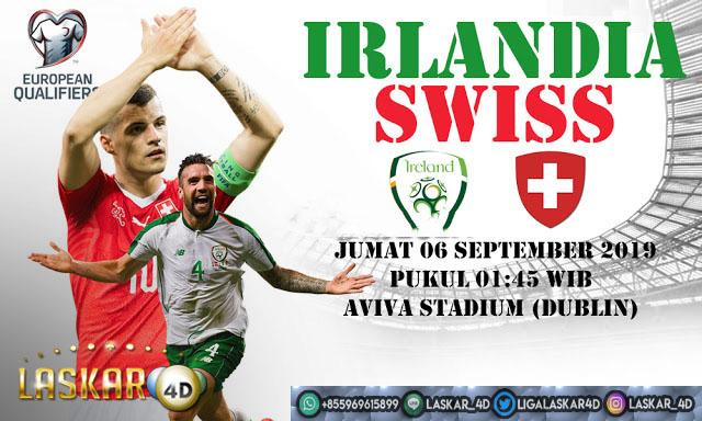 Prediksi Pertandingan Bola Irlandia vs Swiss 06 September 2019