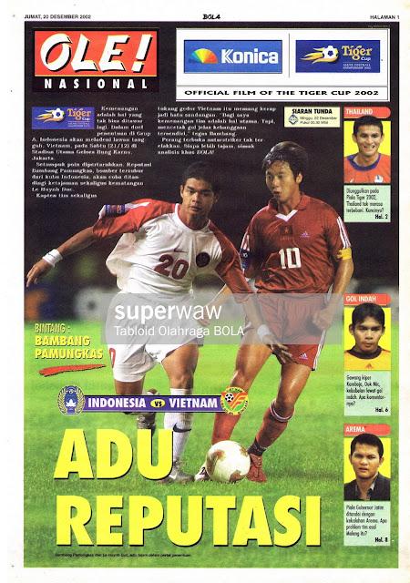 PIALA TIGER INDONESIA VS VIETNAM